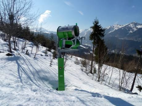 Schneehöhe leutkirch