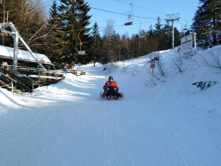 Skigebiet Silberberg Bodenmais Skifahren Silberberg Bodenmais
