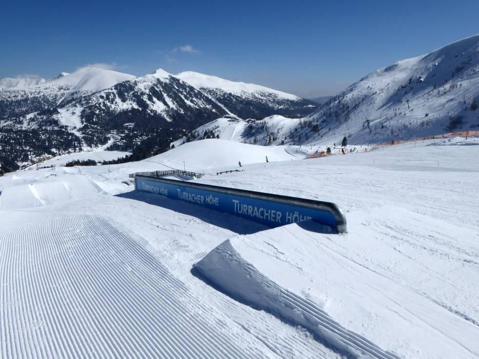 Snowpark turracher h he funpark turracher h he for Turracher hohe skigebiet