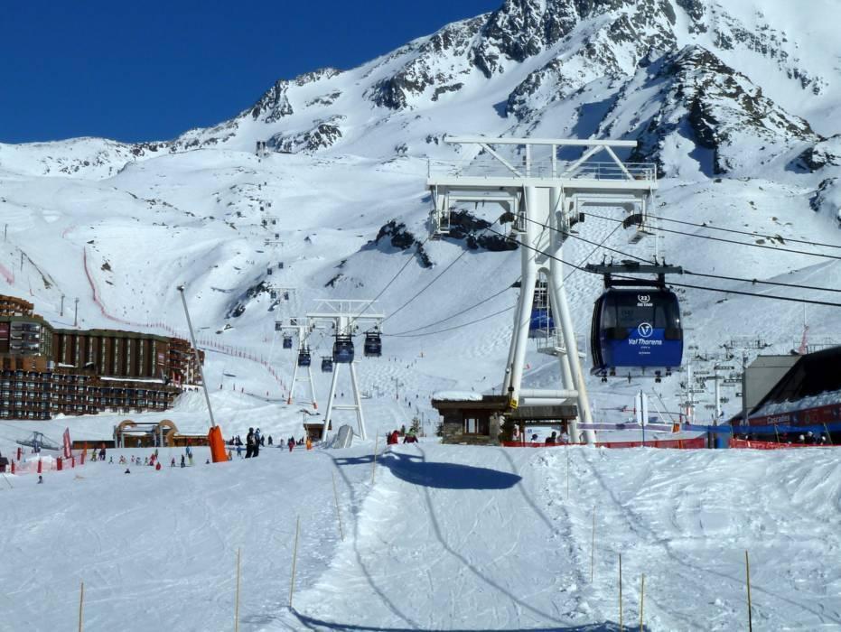 Skigebiet les 3 vall es val thorens les menuires m ribel courchevel skifahren les 3 vall es - Office du tourisme de meribel ...