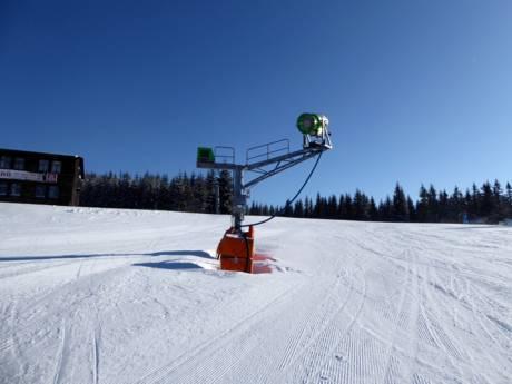 Weihnachten Skiurlaub 2019.Schneesicherheit Tschechische Republik Schneesichere Skigebiete