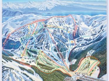Alaska: Höhenunterschiede der Skigebiete