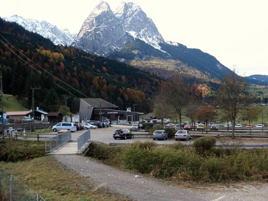 Parken Garmisch Partenkirchen