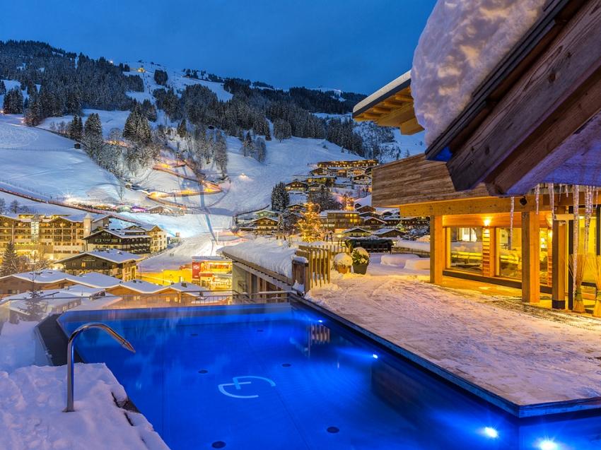 Hotel alpin juwel in hinterglemm for Designhotel skigebiet